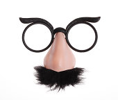 Funny costume glasses.
