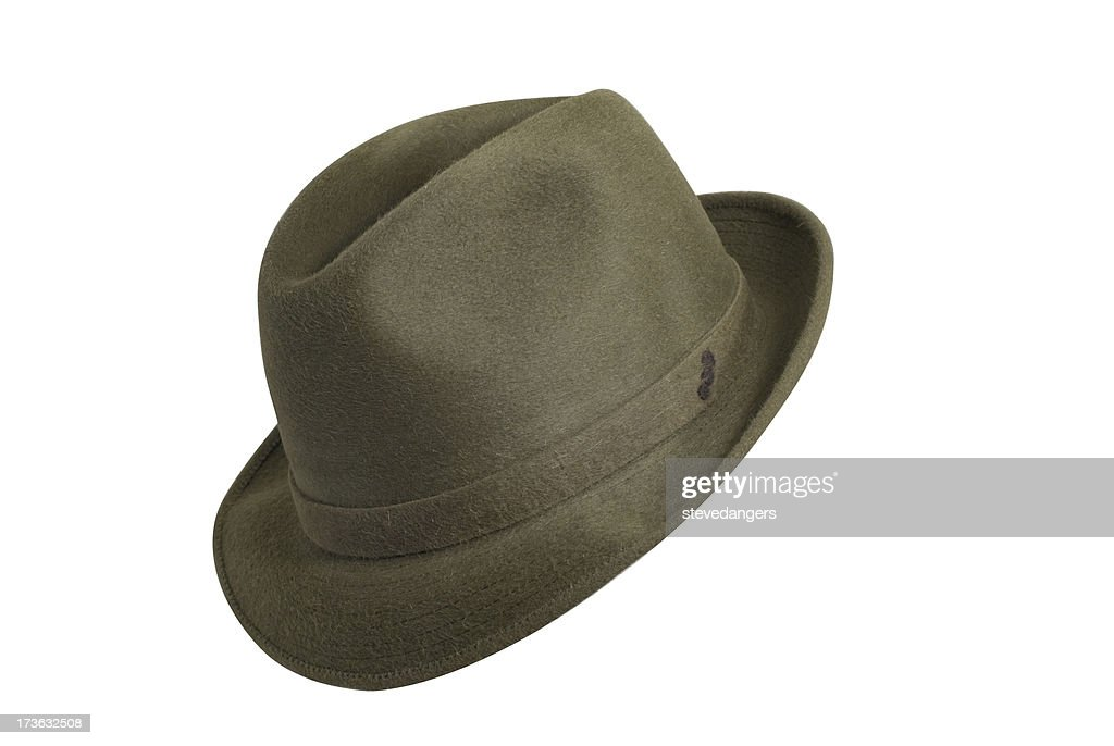 Classico cappello verde : Foto stock