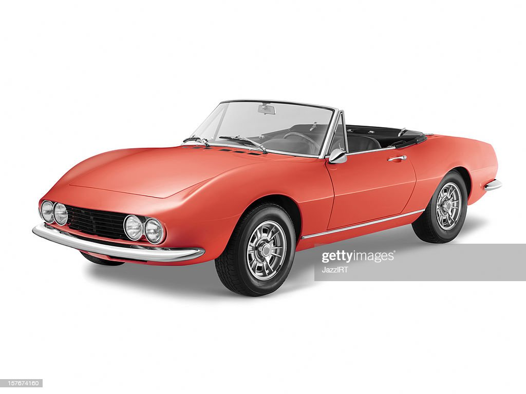 Classic Italian Sports Car Stock Photo  Getty Images