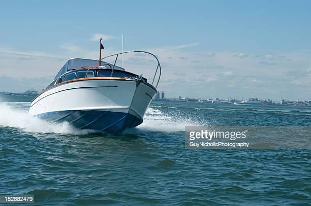 Klassische Motorboot