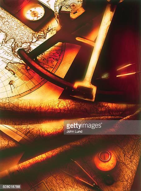 Classic navigational equipment