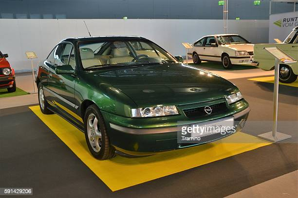 Classic Opel Calibra on the motor show