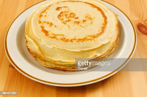 Classic Pancakes Stock Photo   Getty Images