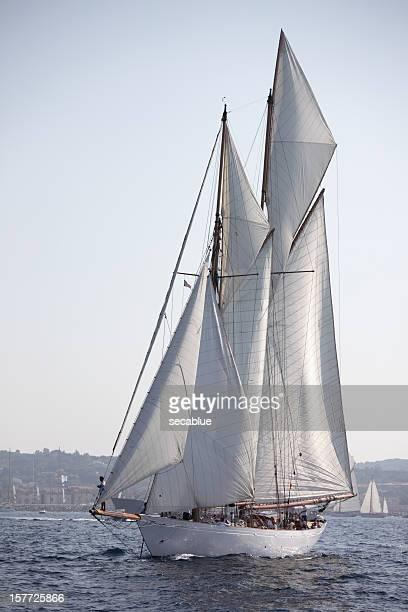 Klassisches Segelboot yacht