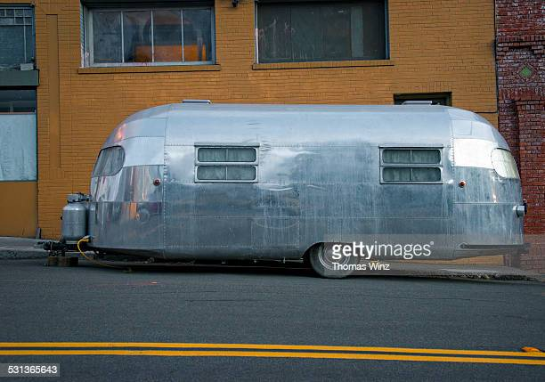 Classic Silver Air stream Trailer