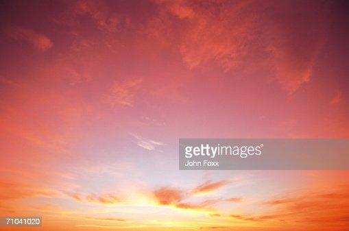 classic sunset : ストックフォト