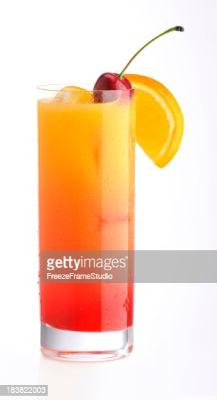 Tequila Sunrise Stock Photos and Pictures | Getty Images