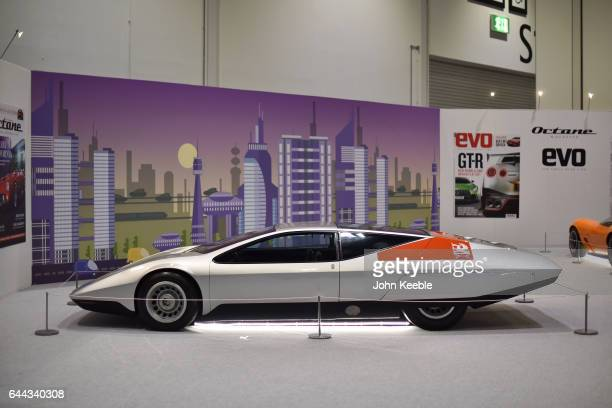 A classic Vauxhall SRV concept car on display at London Classic Car Show at ExCel on February 23 2017 in London England The London Classic Car Show...