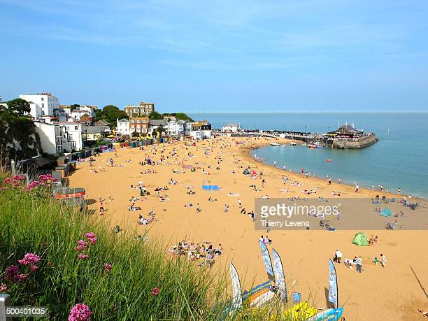Classic view of Broadstairs in Kent
