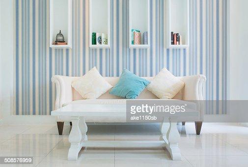 Klassische Vintage-Stil in einem Wohnzimmer : Stock-Foto