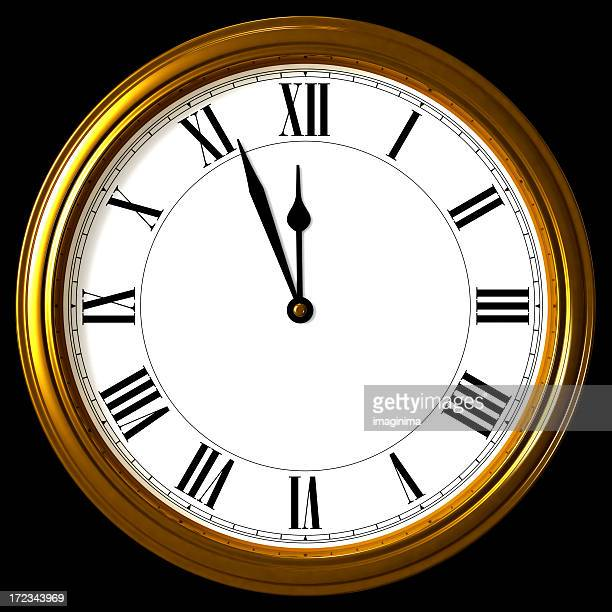 Classic Wall Clock (with Clipping Path)