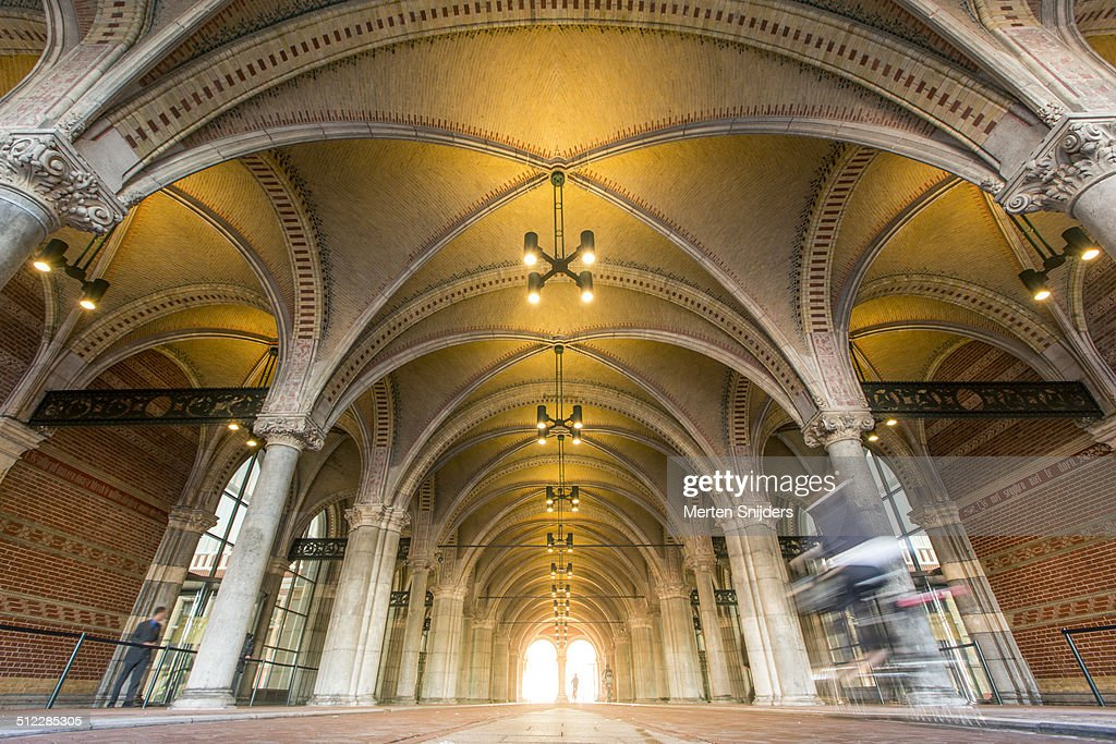 Classical Arches And Columns At Rijksmuseum Stock Photo