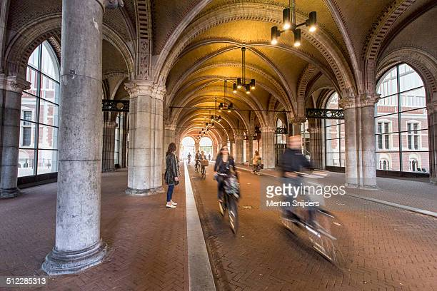Classical arches and columns at Rijksmuseum