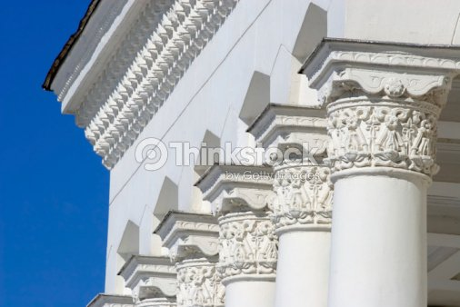 Classical architectural columns