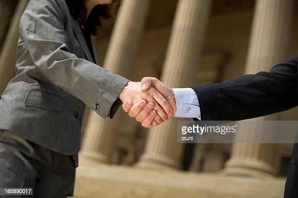 classical handshake