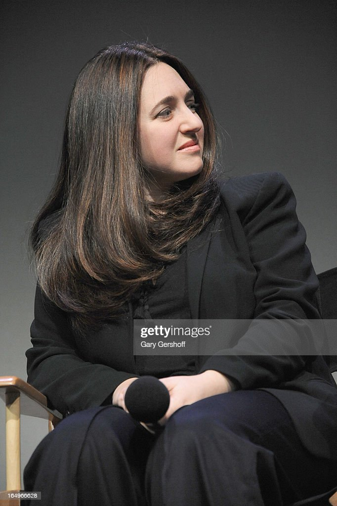 Classical pianist Simone Dinnerstein attends Meet the Musicians at the Apple Store Soho on March 29, 2013 in New York City.