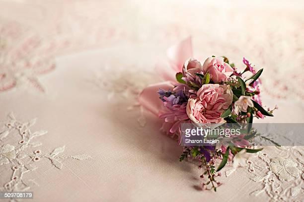 Classical vintage wedding flowers