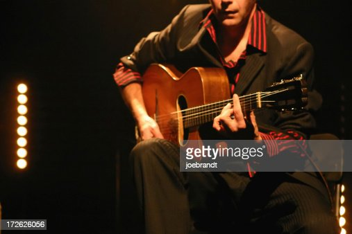 Classical/Acoustic Guitarist on Stage