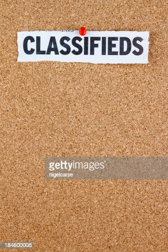 Classifieds on Message Board