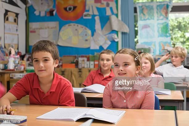 Klassenzimmer mit Kinder