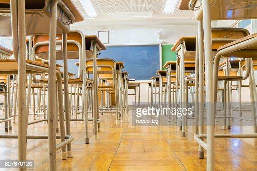 Classroom Low Angle : Foto stock