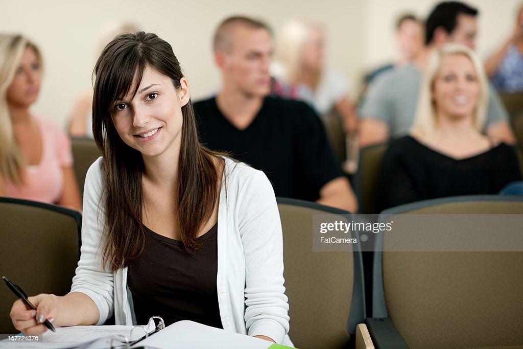 Classroom of Students : Stock Photo