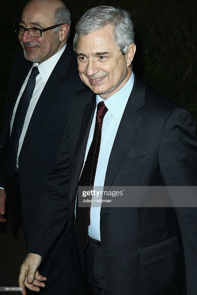 <a gi-track='captionPersonalityLinkClicked' href=/galleries/search?phrase=Claude+Bartolone&family=editorial&specificpeople=551950 ng-click='$event.stopPropagation()'>Claude Bartolone</a> attends the 28th Dinner of 'Conseil Rrepresentatif Des Institutions Juives De France at Pavillon d'Armenonville on March 20, 2013 in Paris, France.