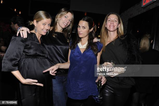 Claude Davies Merrie Harris Sarah Ruffin Costello and Lenora Mahoney attend LUCY SYKES RELLIE'S BIRTHDAY PARTY at Park Avenue Tavern on December 6th...