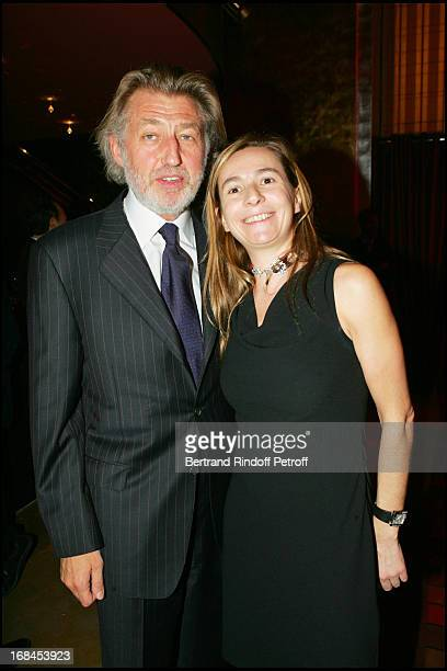 Claude Gagniere and Coco at 100th Episode Of 'Campus' Of Guillaume Durant At Le Cafe De L'Homme Restaurant At The Trocadero
