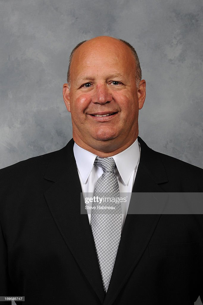 <a gi-track='captionPersonalityLinkClicked' href=/galleries/search?phrase=Claude+Julien&family=editorial&specificpeople=582124 ng-click='$event.stopPropagation()'>Claude Julien</a> of the Boston Bruins poses for his official headshot for the 2012-2013 season on January 13, 2013 at the TD Garden in Boston, Massachusetts.