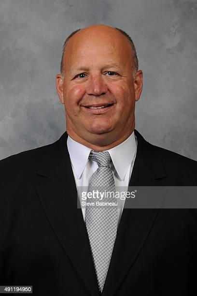 Claude Julien of the Boston Bruins poses for his official headshot for the 20152016 season on September 18 2015 at the TD Garden in Boston...