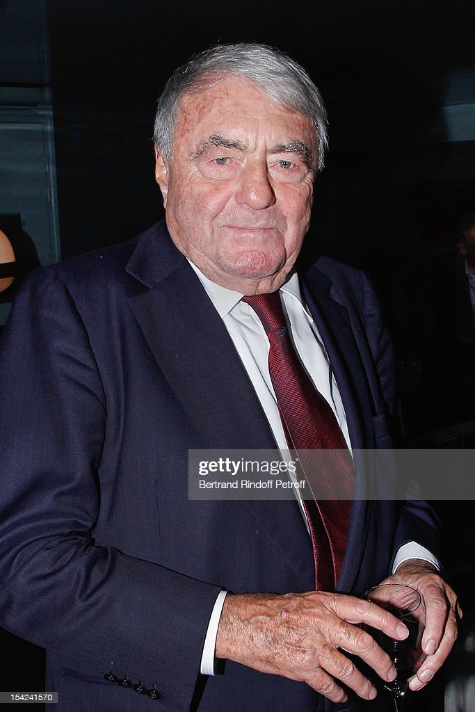 <a gi-track='captionPersonalityLinkClicked' href=/galleries/search?phrase=Claude+Lanzmann&family=editorial&specificpeople=2464586 ng-click='$event.stopPropagation()'>Claude Lanzmann</a> attends 'La Conversation' By Jean D'Ormesson at Theatre Hebertot on October 16, 2012 in Paris, France.