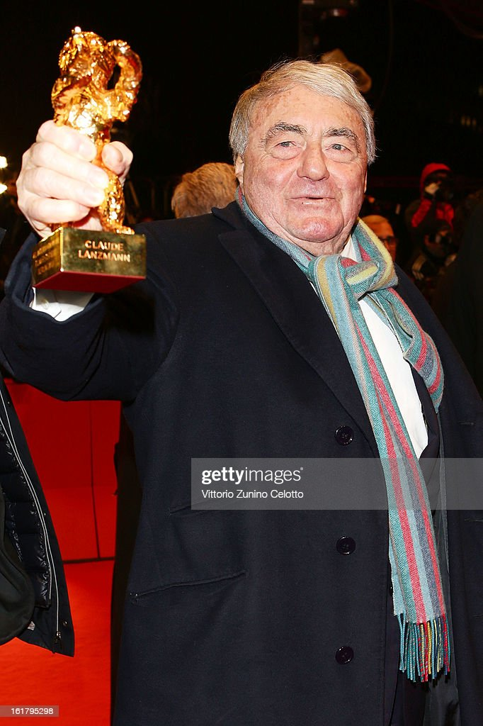 <a gi-track='captionPersonalityLinkClicked' href=/galleries/search?phrase=Claude+Lanzmann&family=editorial&specificpeople=2464586 ng-click='$event.stopPropagation()'>Claude Lanzmann</a> attends the Closing Ceremony of the 63rd Berlinale International Film Festival at Berlinale Palast on February 14, 2013 in Berlin, Germany.