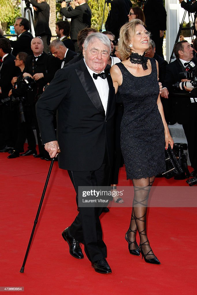 <a gi-track='captionPersonalityLinkClicked' href=/galleries/search?phrase=Claude+Lanzmann&family=editorial&specificpeople=2464586 ng-click='$event.stopPropagation()'>Claude Lanzmann</a> attends the 'Mia Madre' ('My Mother') premiere during the 68th annual Cannes Film Festival on May 16, 2015 in Cannes, France.