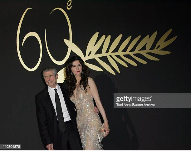 Claude Lelouch and Alessandra Martines during 2007 Cannes Film Festival 60th Anniversary Dinner in Cannes France