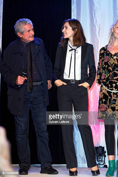 Claude Lelouch Anne Parillaud attends opening ceremony of 27th Dinard British Film Festival on September 29 2016 in Dinard France