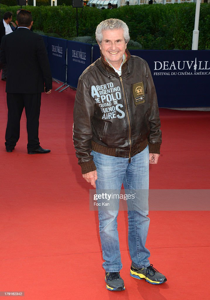 <a gi-track='captionPersonalityLinkClicked' href=/galleries/search?phrase=Claude+Lelouch&family=editorial&specificpeople=207051 ng-click='$event.stopPropagation()'>Claude Lelouch</a> attends the 'Blue Jasmine' Premiere at the 39th Deauville Film Festival at the CID on August 31, 2013 in Deauville, France.