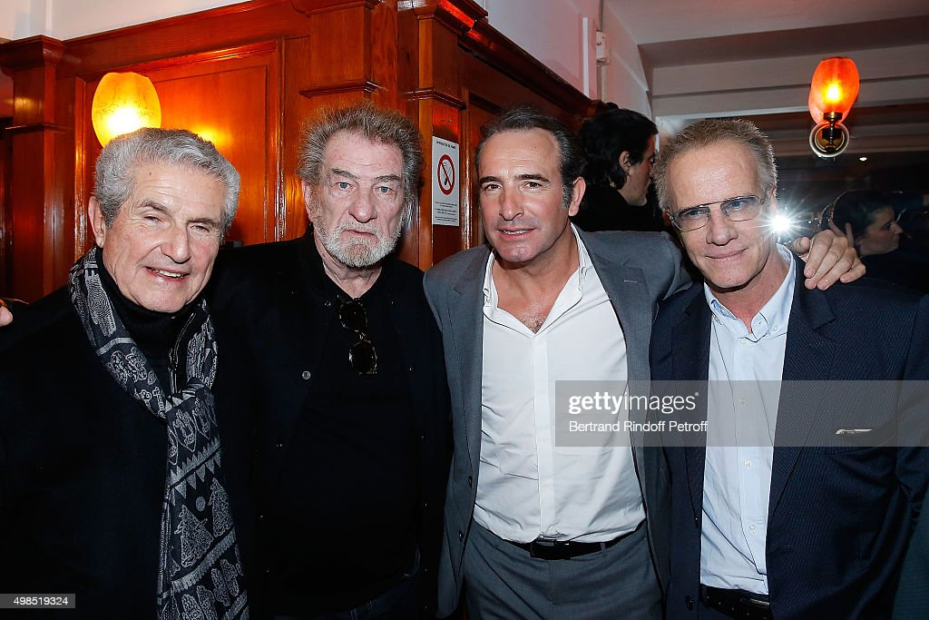 Eddy mitchell getty images for Dujardin christophe