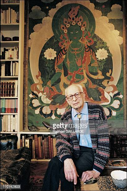 Claude LeviStrauss in France on November 13 1997