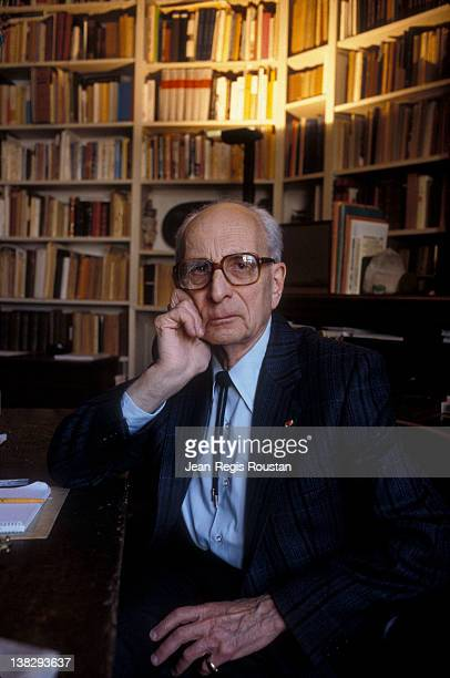 Claude LéviStrauss French anthropologist ethnologist and philosopher 1986