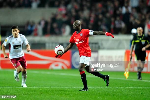 Claude MAKELELE Paris Saint Germain / Benfica 1/8 Finale retour Europa League