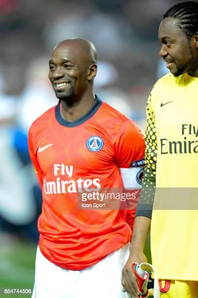 Claude MAKELELE / Apoula EDEL Paris Saint Germain / Benfica 1/8 Finale retour Europa League