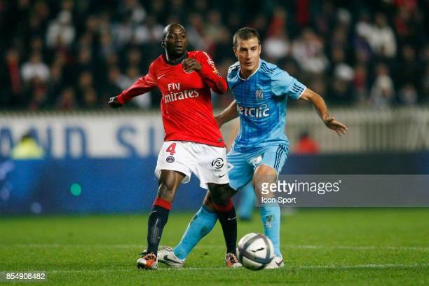 Claude MAKELELE / Benoit CHEYROU PSG / Marseille 12eme journee de Ligue1
