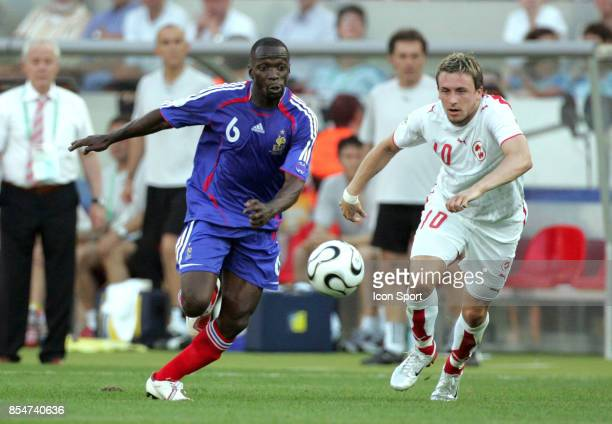 Claude MAKELELE / Claude GYGAX France / Suisse Coupe du Monde 2006