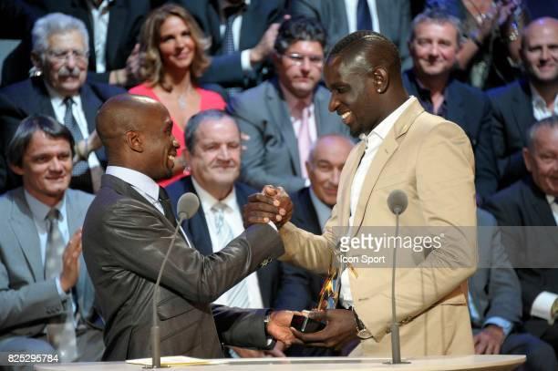 Claude MAKELELE / Mamadou SAKHO Meilleur Espoir Ligue 1 Trophee UNFP 2011