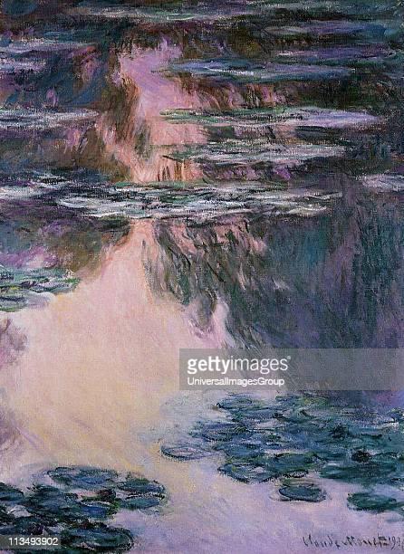 Claude Monet French impressionist artist WaterLilies