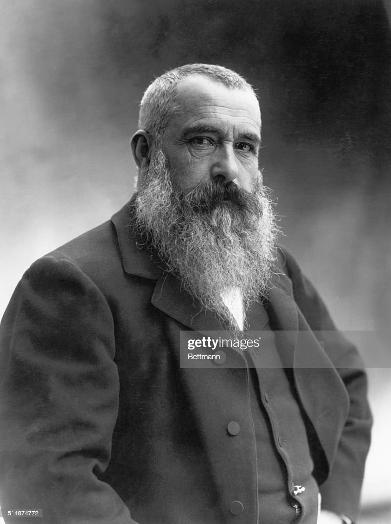 Claude Monet (1840-1926), French impressionist painter. Photograph by Nadar in 1899.