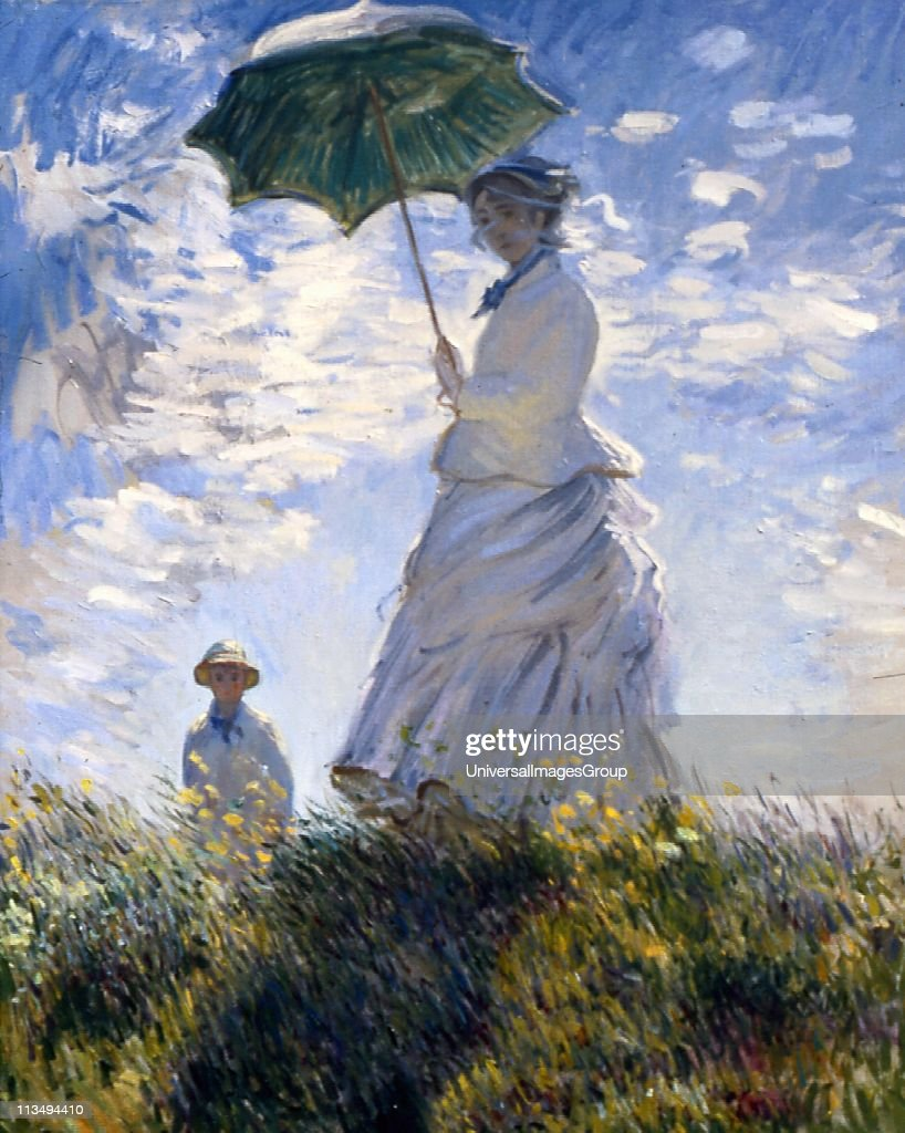Claude monet getty images for Claude monet impressionist paintings