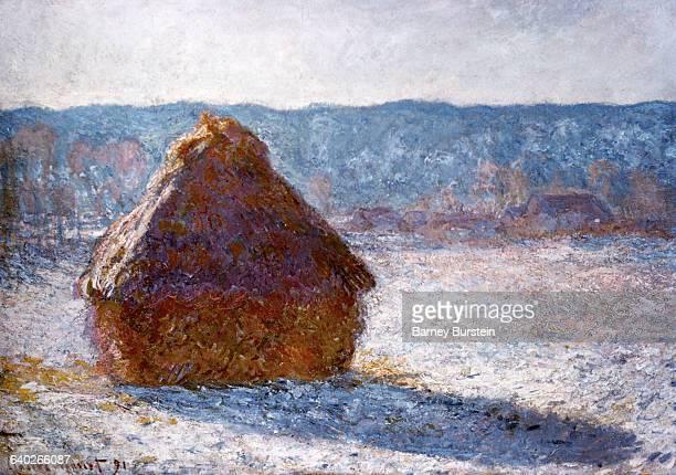 'The Haystack' painting Burstein collection/CorbisBettmann