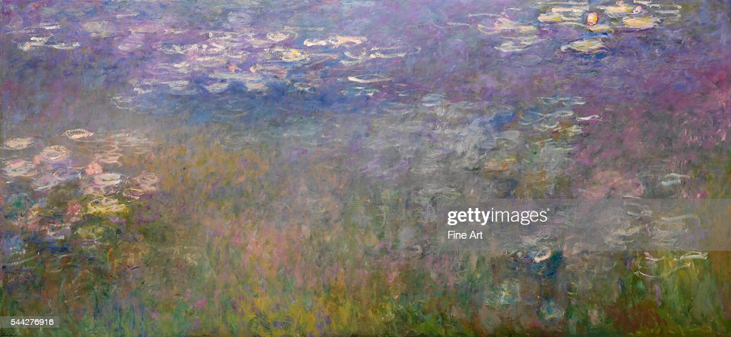 <a gi-track='captionPersonalityLinkClicked' href=/galleries/search?phrase=Claude+Monet&family=editorial&specificpeople=79875 ng-click='$event.stopPropagation()'>Claude Monet</a> (French, 1840–1926), Water Lilies, 1915-26, oil on canvas, 199.9 x 425.5 cm (78.7 x 167.5 in), Nelson-Atkins Museum of Art, Kansas City.